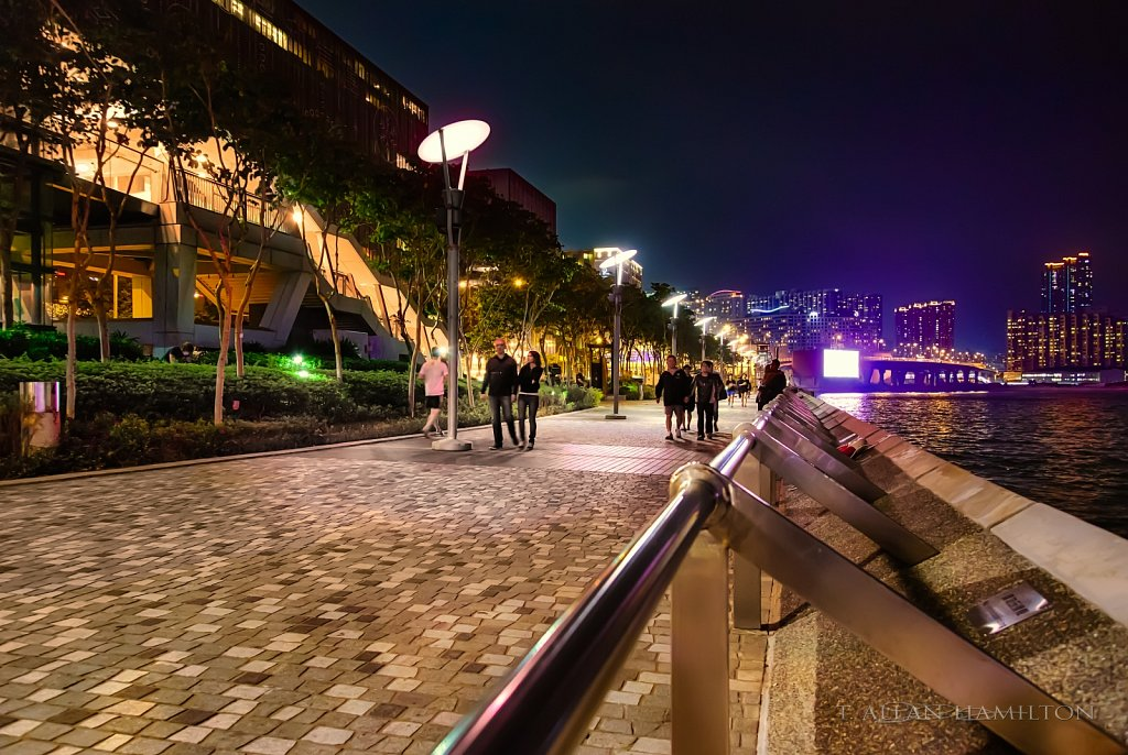 Tsimshatsui East harbour walk