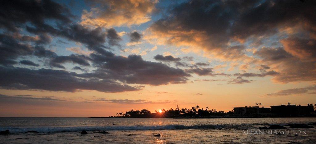 Sunset at Kailua-Kona
