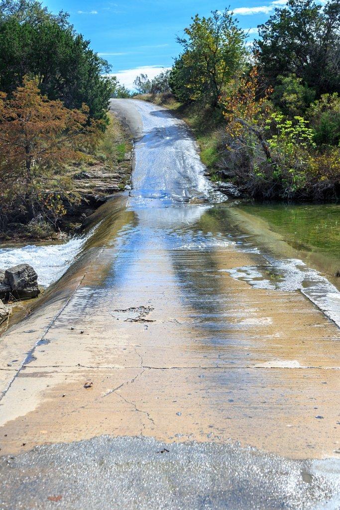 Water Crossing on Fitzhugh Road